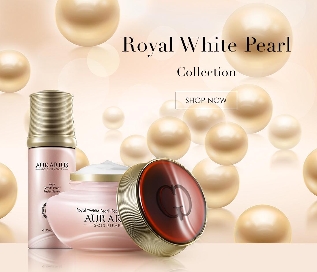 Aurarius-skin-care-Royal-White-Pearl-banner-mob